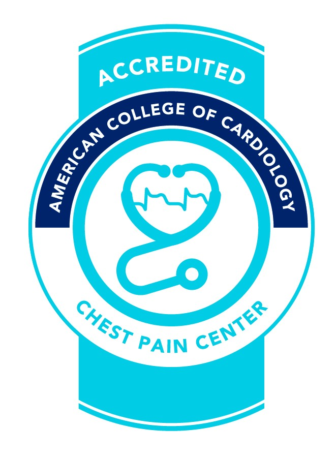 chest pain cardiology accredited